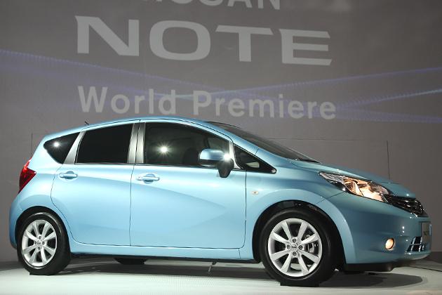 2012年9月に初のフルモデルチェンジを実施する日産 新型「NOTE(ノート)」