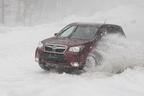 スバル 新型フォレスターで雪上試乗イベントレポート ~悪路走破性に優れた「X-MODE」を体感せよ!~
