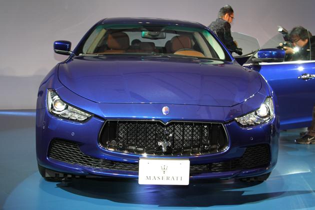 マセラティ 新型ギブリ S Q4