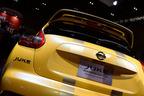 【速報!】黄色のボディカラーで一際目立つ!日産「JUKE Personalization Advanced Concept」【東京オートサロン2015】