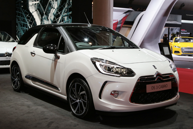 【TMS2015】DS3カブリオ