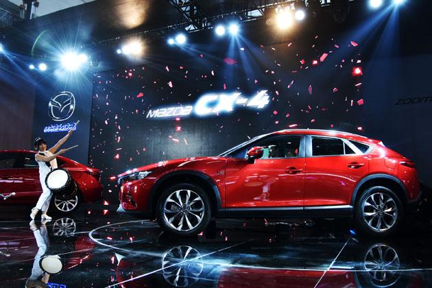 中国で発表されたマツダの新型SUV、マツダCX-4