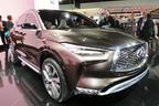 インフィニティ、新型SUVの「QX50」に新開発VCターボと自動運転支援技術を導入か