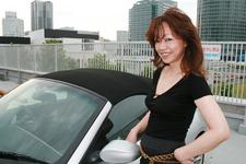 石原美香さんとBMW Z4