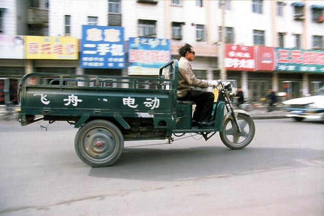 電動自転車大国・中国