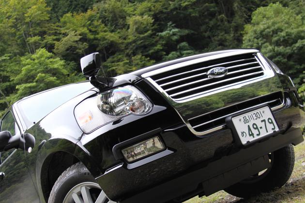 フォード エクスプローラー フロントアップ