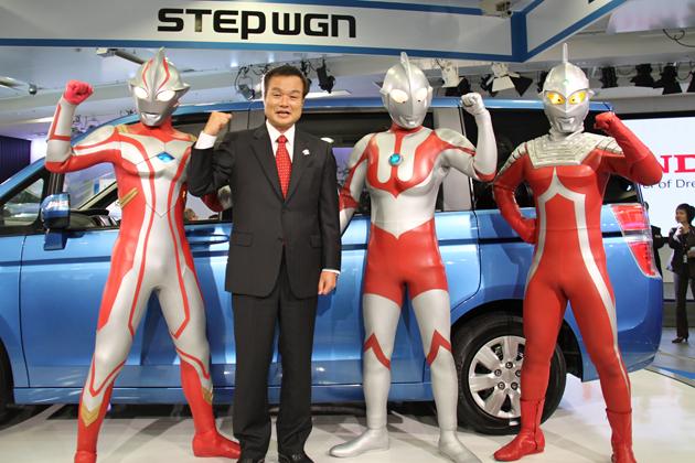 ホンダ 新型ステップワゴンと伊東孝紳社長