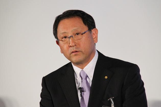 トヨタ マークX発表会